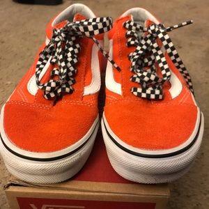 4773a9b2d2 Vans Women Shoes Color Orange on Poshmark